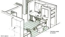 Ada Handicap Bathroom Floor Plans