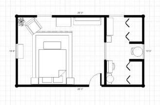 Adding Bathroom Dressing Area Room Plan Floor Much