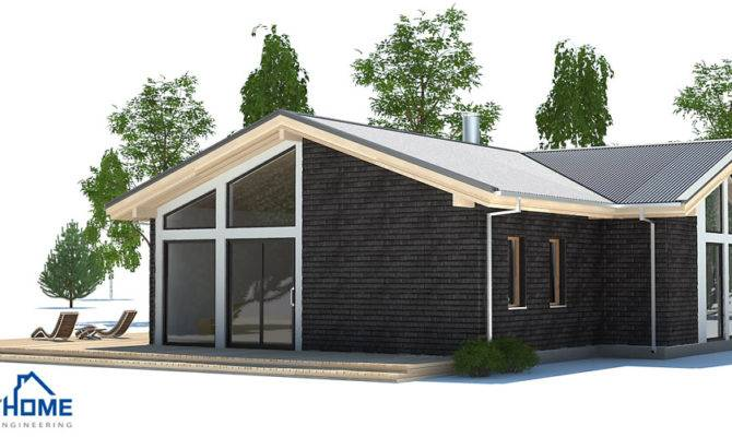 Affordable Home Plans Economical Modern Plan