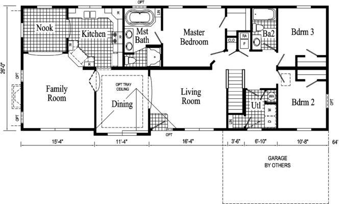 Affordable Living Made Possible Ranch Floor Plans Interior Design
