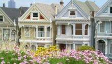 Alamo Square Beautiful Victorian House Sisters