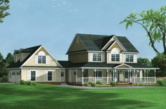 Amelia Country Farmhouse Plan House Plans More