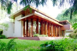 American Art Frank Lloyd Wright Usonian House