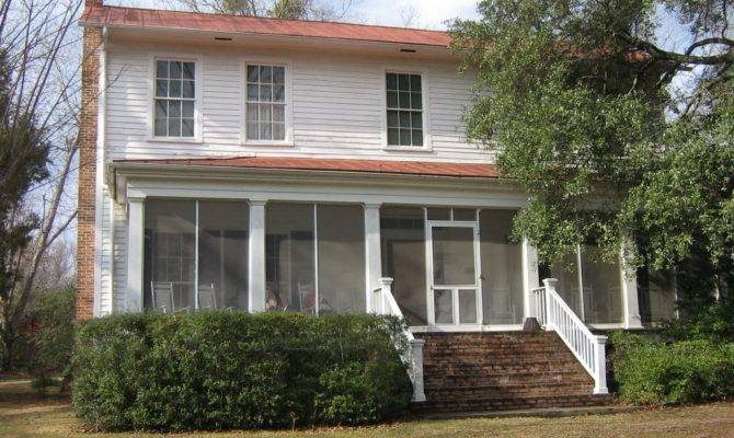 Andalusia Home Flannery Connor Writer Milledgeville Georgia