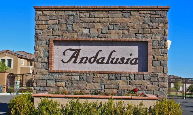 Andalusia Homes Sale Summerlin Paseos Las Vegas Real Estate