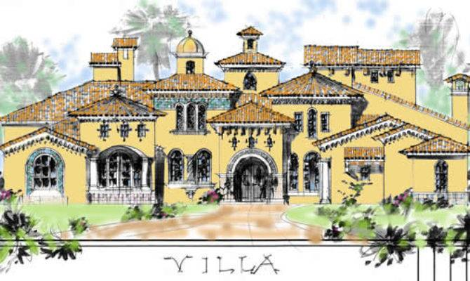 Andalusian Style Above New Luxury Home Young