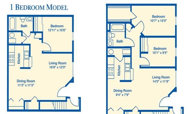 Apartment Floor Plan Bedroom
