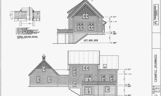 Architectural Drawing Packages Post Beam Homes Timberworks
