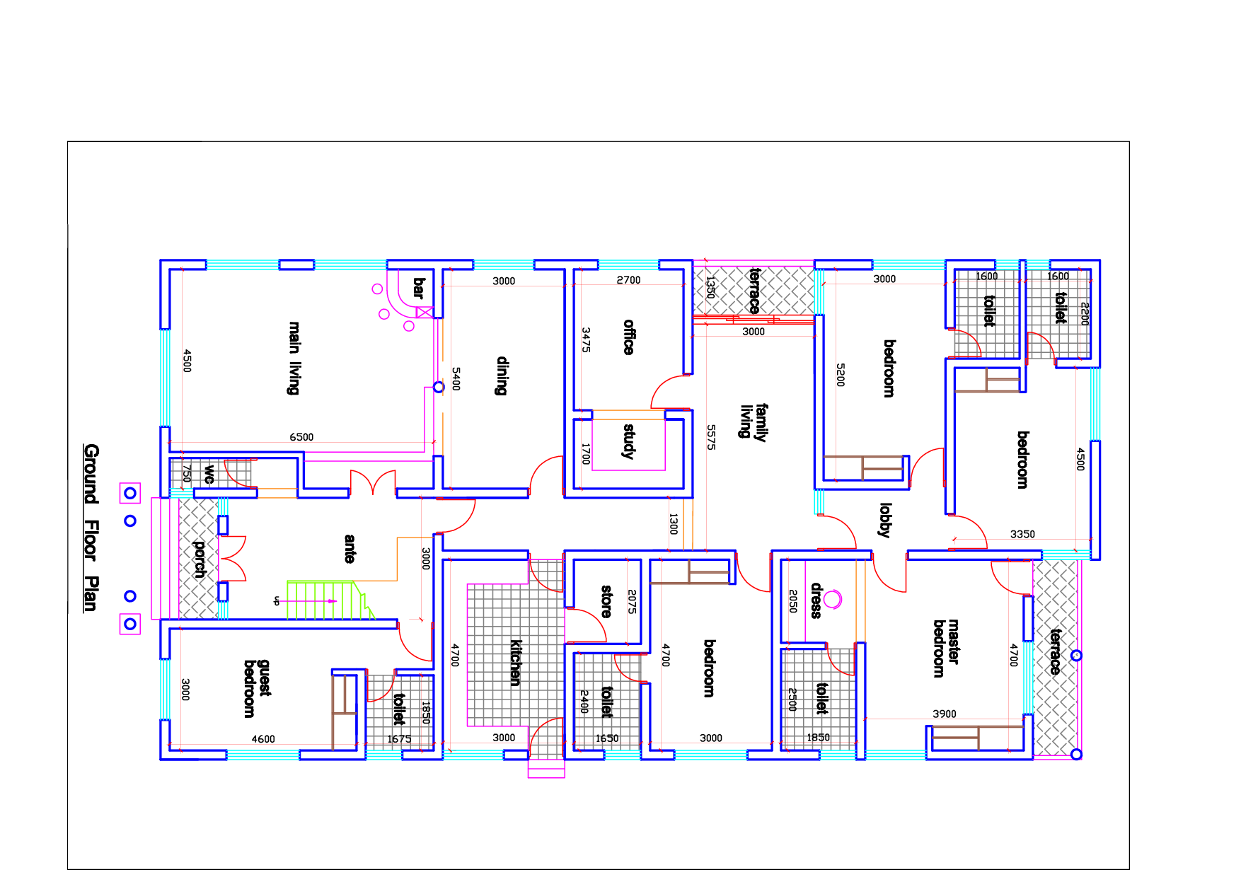 Civil Engineering Drawing House Plan Arts