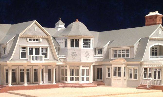 Architectural House Models Houses Hamptons Long Island