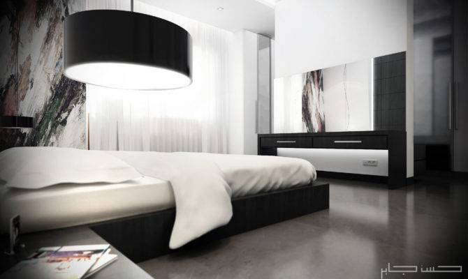 Architectural Visualization User Community White Modern Bedroom