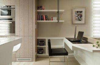 Area Achieve Cohesive Look Throughout Small Open Plan Space