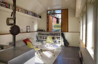 Area Small Garage Conversion Design Idea Homehousedesign