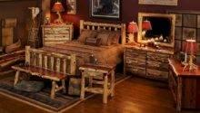 Aromatic Red Cedar Log Bed Bedroom Furniture