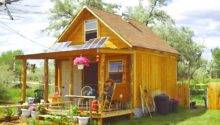 August Build Off Grid Cabin Under
