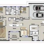 Australian Floor Plans Bedroom House Home Design