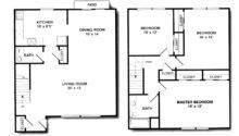 Awesome Bedroom Duplex Bath House Plans