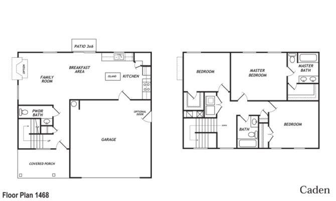 Back Car Garage Floor Plans