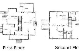 Back House Floor Plans Bedroom Bath Story