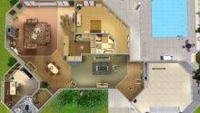 Back Sims House Layouts