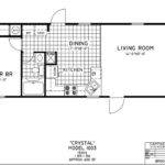 Back Single Wide Mobile Home Floor Plans Bedroom