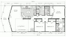 Back Small Mountain Cabin Floor Plans