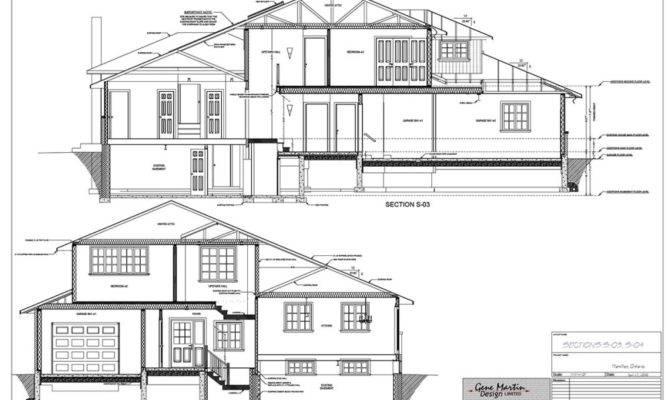 front to back split level house plans arts