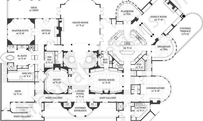 awesome castles plans 18 pictures home plans