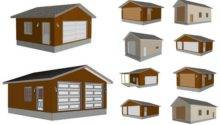 Barn Garage Plan Specials Sds Plans