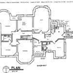 Basement Blueprint First Floor Second Third