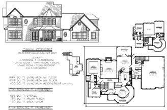 Basement Custom Home House Plan Design Bedroom Plans