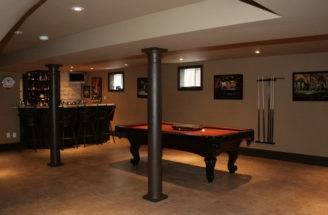 Basement Recreation Room Bar