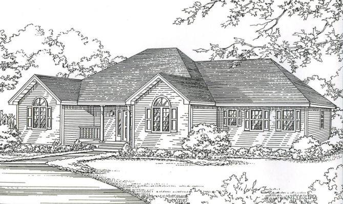 Hip Roof House Plans Ideas Photo Gallery Home Plans Blueprints