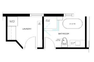Bathroom Floor Plan Drawings Home Decorating Ideasbathroom Interior