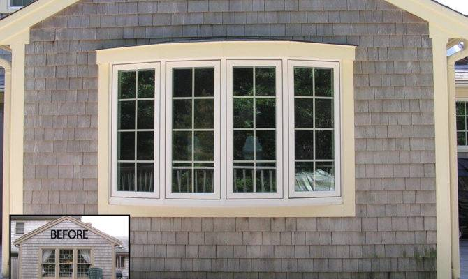 Bay Window Installations Cape Cod Baker Awnings Associates