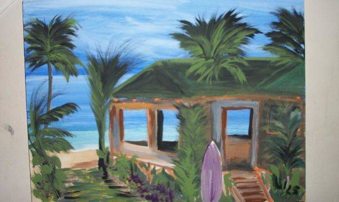 Beach House Painting