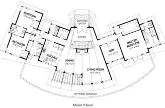 Beam Home Plans Floor Post