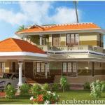 Beautiful Bedroom Kerala House Plan Acube