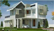 Beautiful Double Storey Villa Feet Indian House Plans