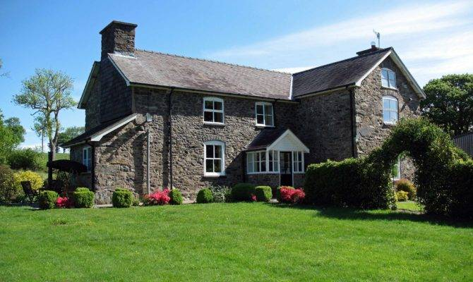 Beautiful Farm Houses Gwaenynog Stone