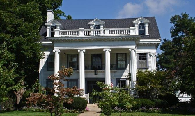 Beautiful Greek Revival Home Sits Main Street Along Many