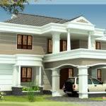 Beautiful House Elevation Blogkaku Plans Home