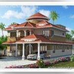 Beautiful Kerala House Plan Acube Builders