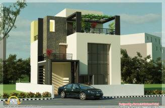 Beautiful Modern Contemporary House Renderings Kerala Home Design