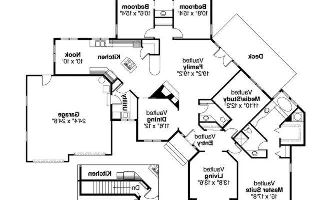 Beautiful One Story House Plans Two Master Suites