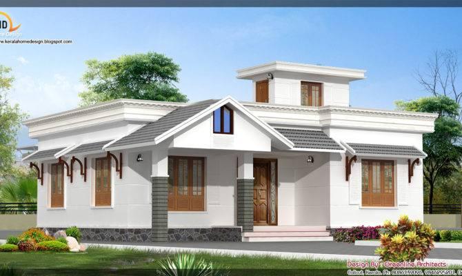 Beautiful Single Floor House Elevation Kerala Home