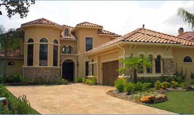 Beautiful Spanish Style Home Plans House