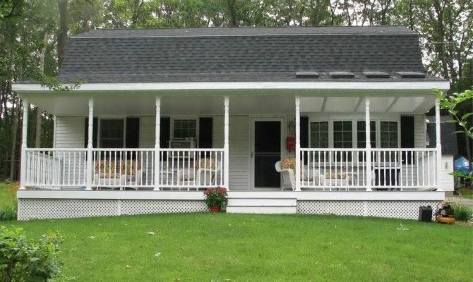 Beauty Facade Decks Porches Mobile Homes Erins Creative