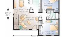 Bedroom Apartment Floor Plans Luxury One Plan