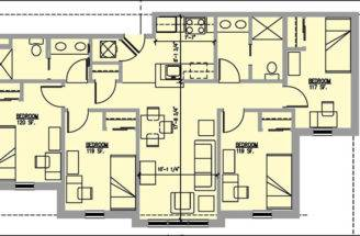 Bedroom Bath House Plans Home